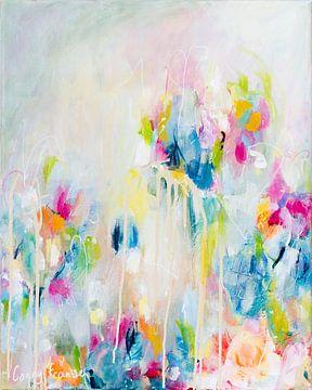 Like falling in Love - serie 'Pastel Petals' van Qeimoy