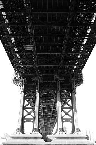 Manhattan Bridge New York von erik driessen