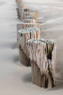 Strandpaaltjes van Jefra Creations