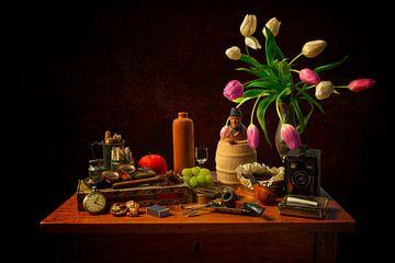 Stilleven: Rookgerei van Carola Schellekens