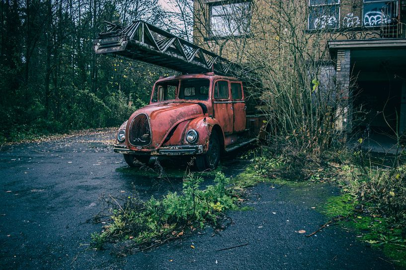 Feuerwehrauto von Mandy Winters
