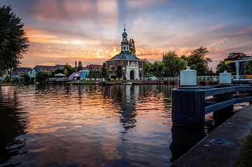 Zijlpoort in Leiden van Martijn van der Nat