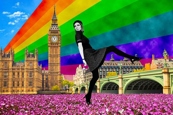 London Pride, 2017, (giclee print)