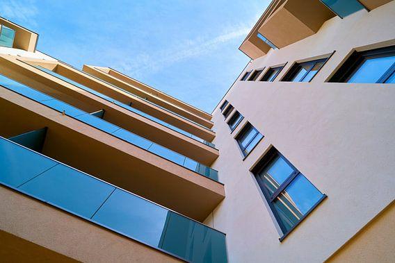 nieuwbouwappartementen in het nieuwe domkwartier in Maagdenburg