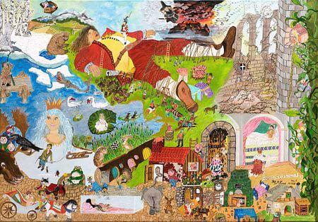 Die schönsten Märchen der Brüder Grimm und Hans Christian Andersen