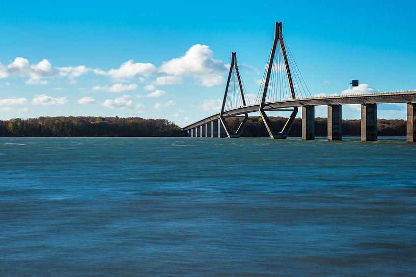 Eine Brücke zwischen Seeland und Falster in Dänemark von Rico Ködder