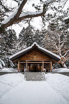 Altaar onder een dak in Sapporo van Mickéle Godderis