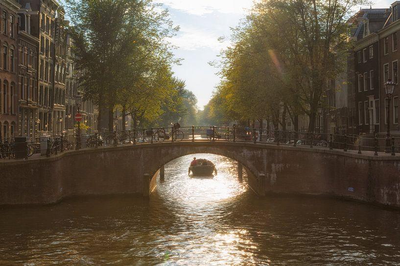 Amsterdamse Grachten van Thomas van Galen