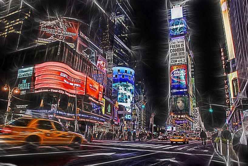 Times Square New York City van Joachim G. Pinkawa