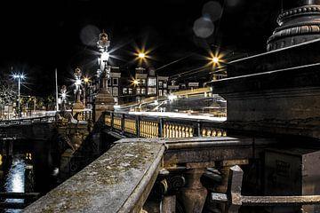 Blaue Brücke Amsterdam von kim brugman