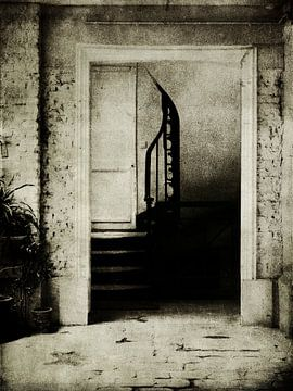 escalier sur