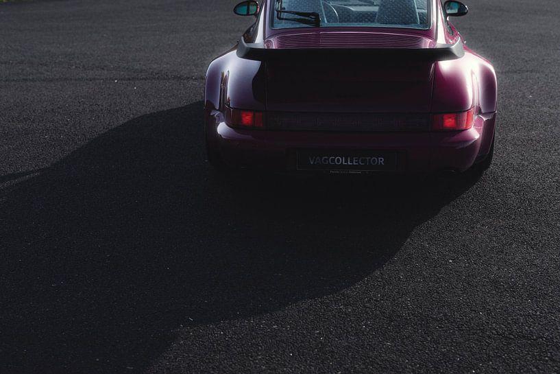 1991 Porsche 964 Turbo Rubystone Red van Gijs Spierings