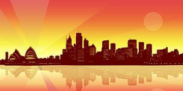 Sydney Skyline von Sandra Höfer