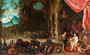 Venus in der Schmiede von Vulkan, Hendrick van Balen, Jan Brueghel de Jonge