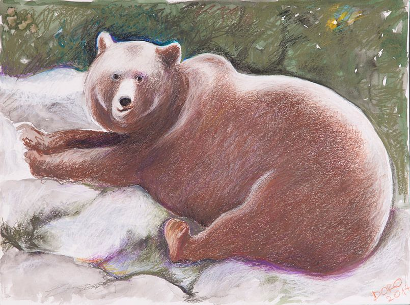 Der Bär lächelt von Dorothea Linke