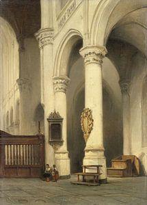 Kircheninterieur, Johannes Bosboom