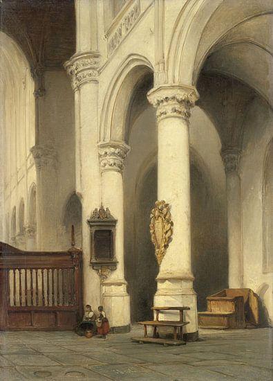 Kerkinterieur, Johannes Bosboom van Meesterlijcke Meesters