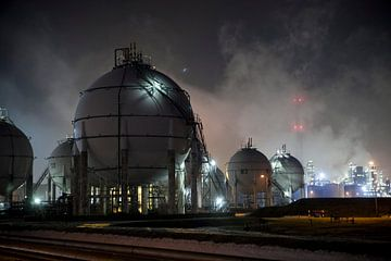 Botlek Rotterdam van Roel Dijkstra
