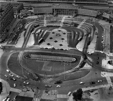 Rotterdam Centraal Station 13-07-1960 van Roel Dijkstra