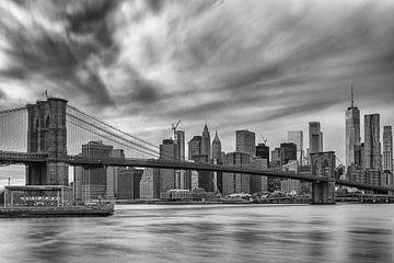 Skyline New York City van Bas Alstadt Fotografie