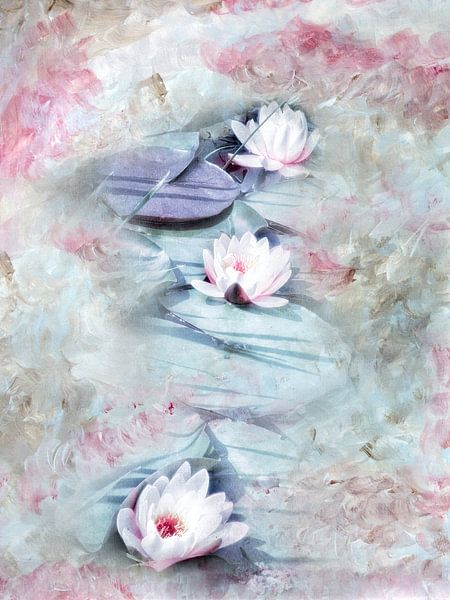 LILY POND van INA FineArt