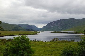 Glenveagh National Park ligt in County Donegal, Ierland. van Babetts Bildergalerie