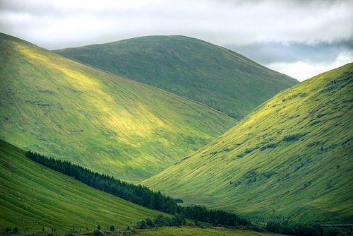 Schotse heuvels van