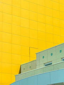 geel cyaan van Michael Schulz-Dostal