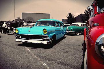 Classic Cars Tri Collor combo van