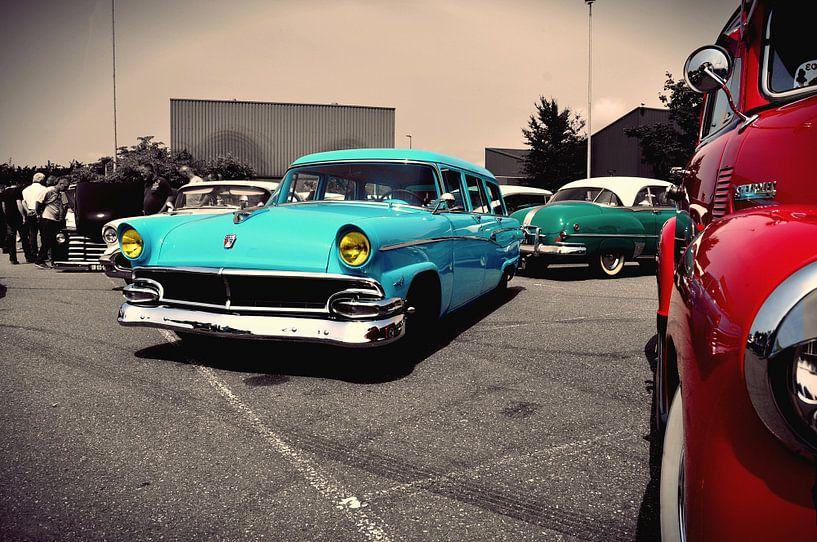 Classic Cars Tri Collor combo van Titus Dingjan