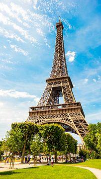 Der Eiffelturm in Paris von Günter Albers