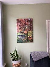 Klantfoto: Ode aan Van Gogh van Pieter Navis, op canvas