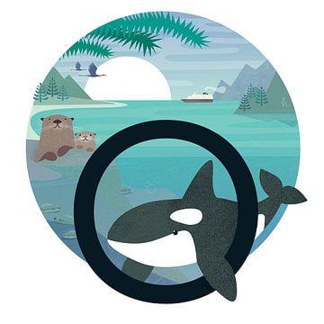 O: Otters en een orka van Hannahland .