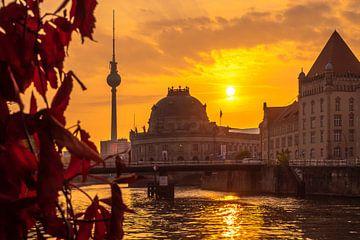 Herbstliches Berlin am Morgen van