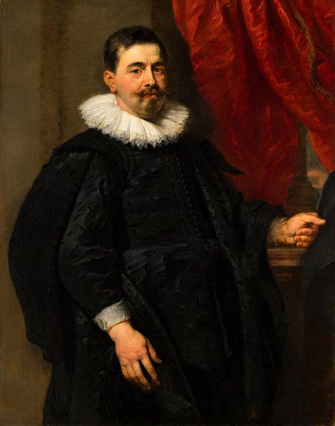 Portrait of a Man, possibly Peter van Hecke, Peter Paul Rubens von Meesterlijcke Meesters