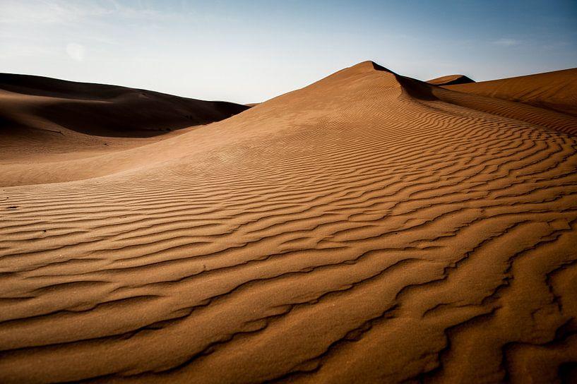 Woestijn Oman van Roel Beurskens
