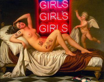 Girls Girls Girls van Rene Ladenius Digital Art