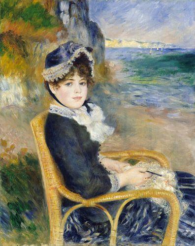 By the Seashore, Auguste Renoir van Meesterlijcke Meesters