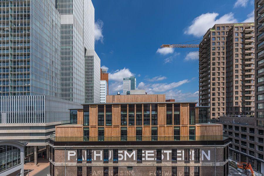 Pakhuismeesteren op de Wilhelminapier in Rotterdam van MS Fotografie