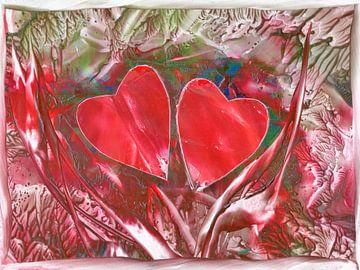 Herzensverbindung - bunt van Katrin Behr