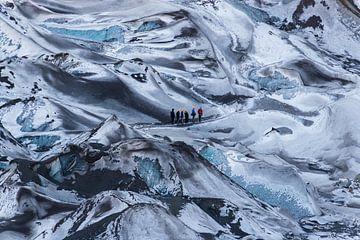 Gletsjerwandeling van Denis Feiner