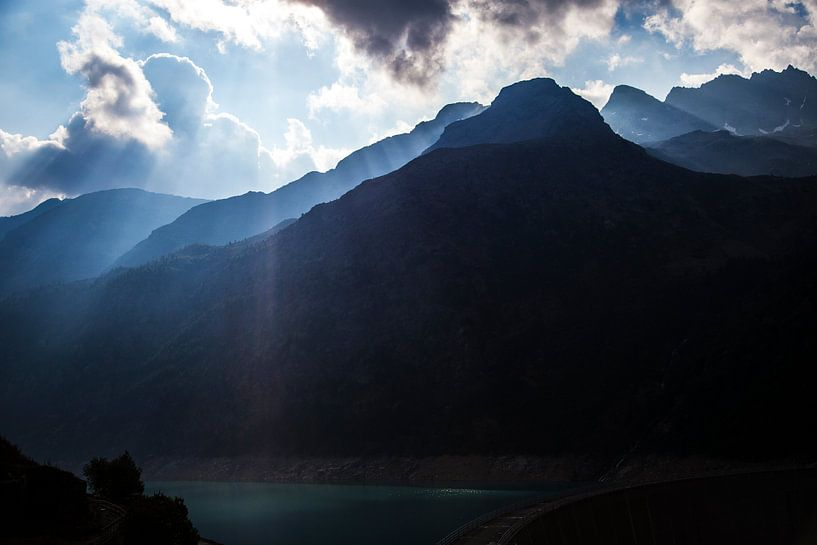 Bergtoppen van Aosta, Italie van Ester Overmars