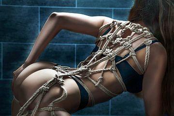 Rope Harness on her back von Rod Meier