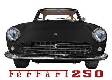 Ferrari 250 GT Coupé in black von aRi F. Huber