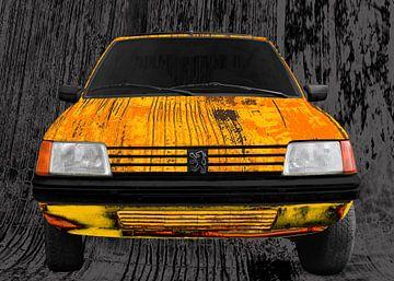 Peugeot 205 Art Car van aRi F. Huber