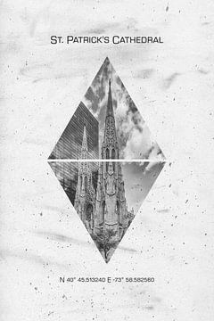 Koordinaten NYC St. Patrick's Cathedral sur Melanie Viola