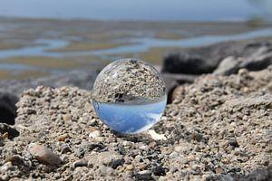 Ameland dans une boule de cristal sur Monique ter Keurs