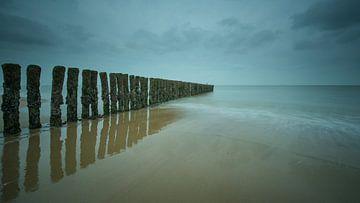 Reflectie in ( Cad ) zand von Jan Heijmans