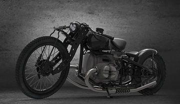 Concept Moto avant Noir sur H.m. Soetens