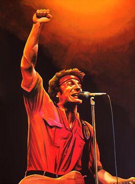Bruce Springsteen schilderij von Paul Meijering